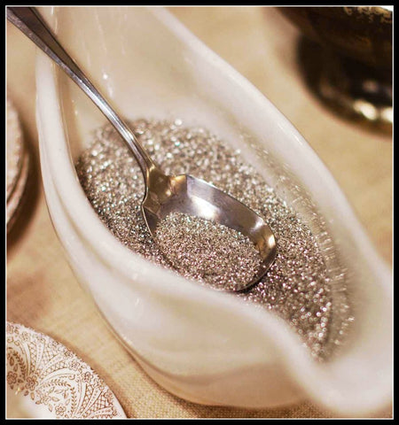 Silver Glass Glitter-2oz.