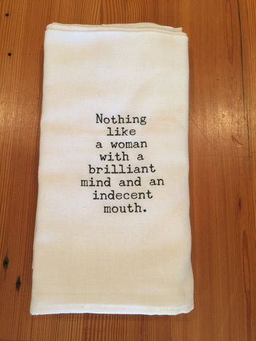 Brilliant Mind Towel