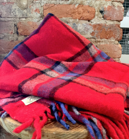 Vintage Faribo Wool Camp Blanket/Throw