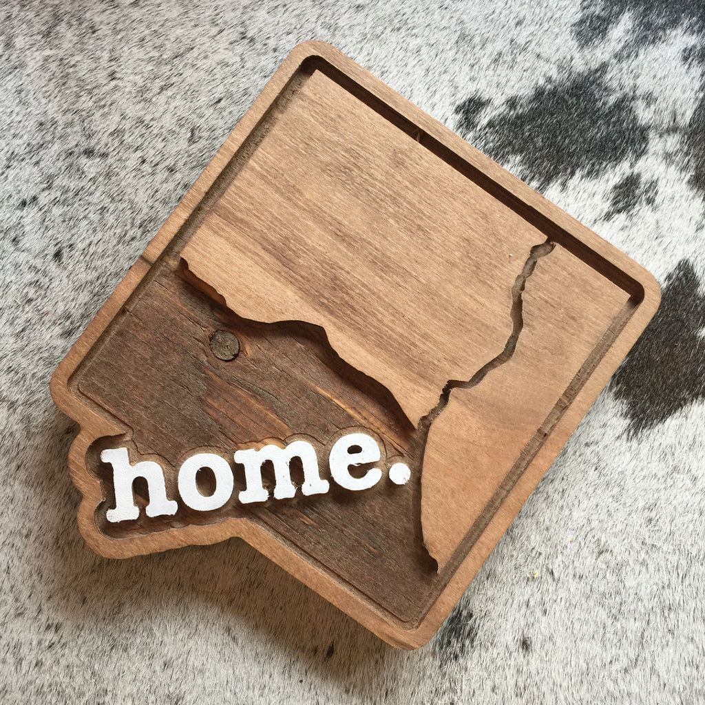 DC Home Wood Plaque
