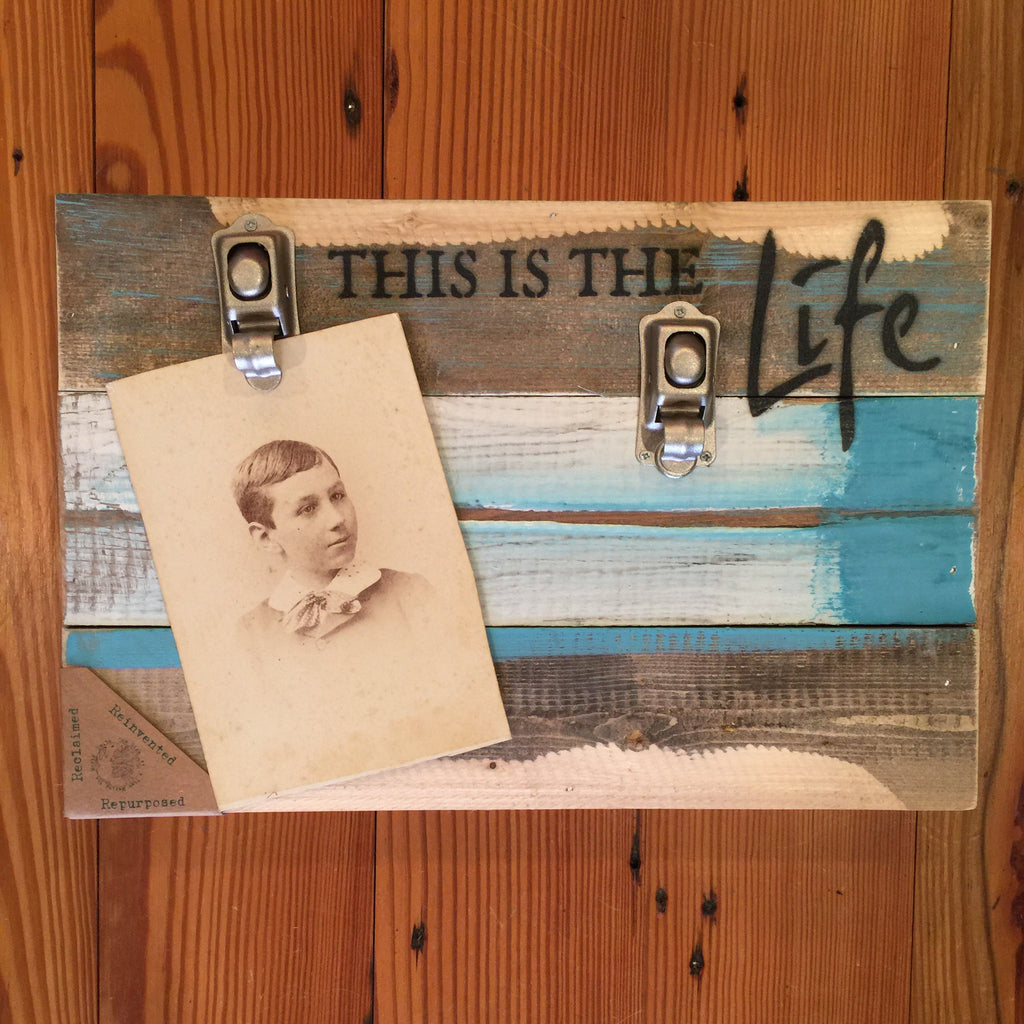 """This is the Life"" 2 Clip Frame"