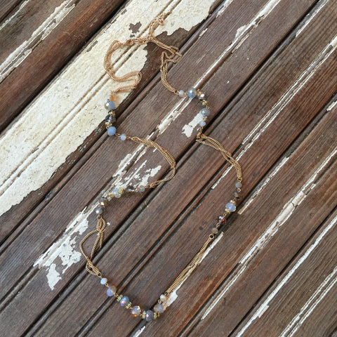 Cloud Bead Layering Necklace