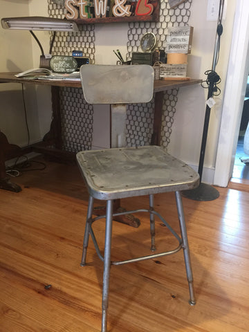 Industrial Metal Stool