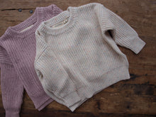 Load image into Gallery viewer, Emmi Sprinkle Knit Set - Rose