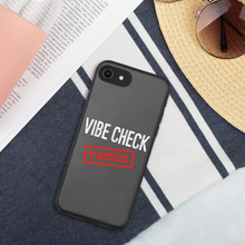 Load image into Gallery viewer, Passed the Vibe Check iPhone Case