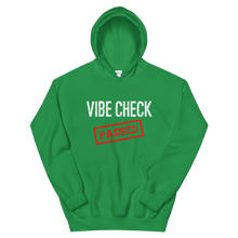 Load image into Gallery viewer, Passed the Vibe Check Hoodie