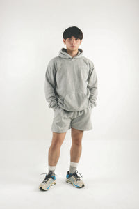 Leisure Track Shorts - Gray