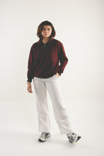 Load image into Gallery viewer, Half-zip Pullover - Maroon
