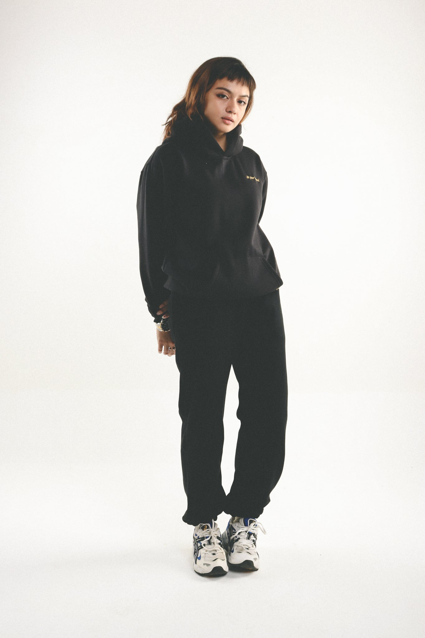 Leisure Track Pants - Black