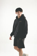Load image into Gallery viewer, Leisure Track Shorts - Black