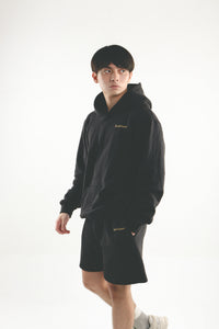 Leisure Track Shorts - Black