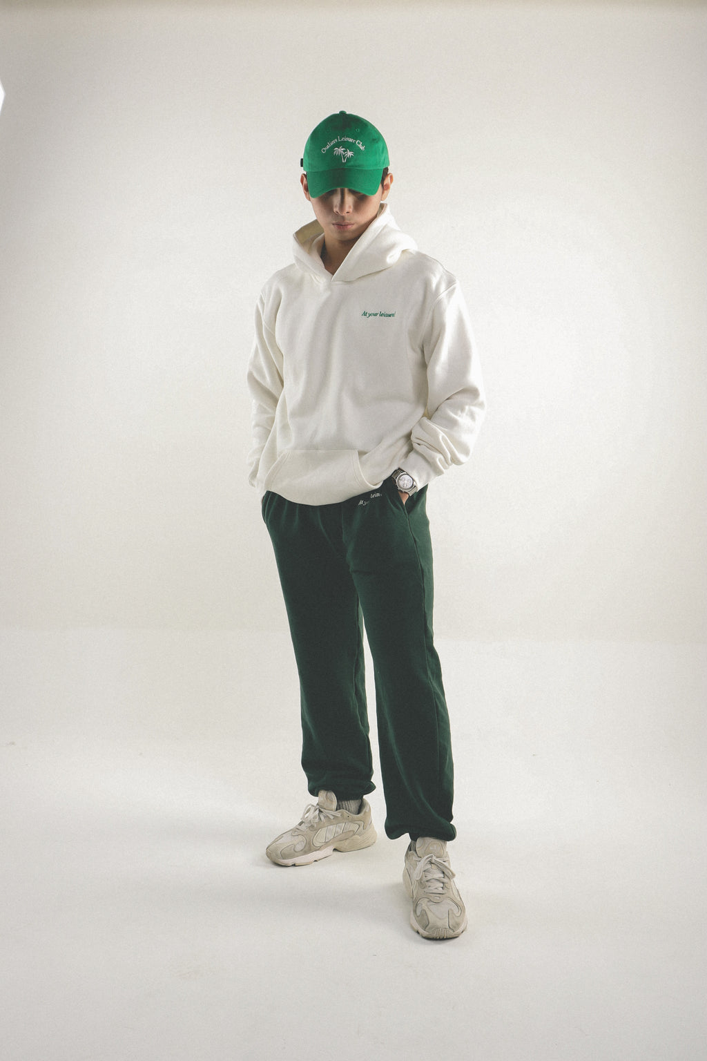 Leisure Track Pants - Green