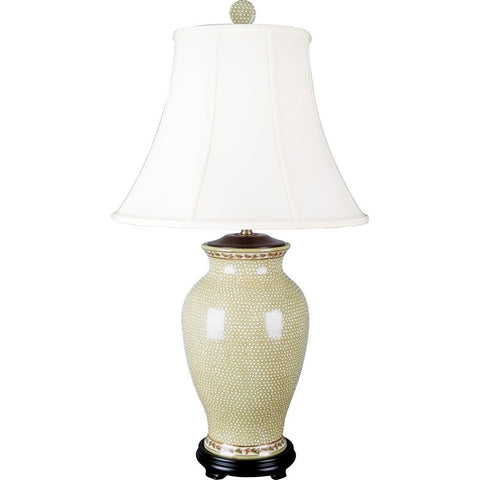 Dotty Porcelain Lamp