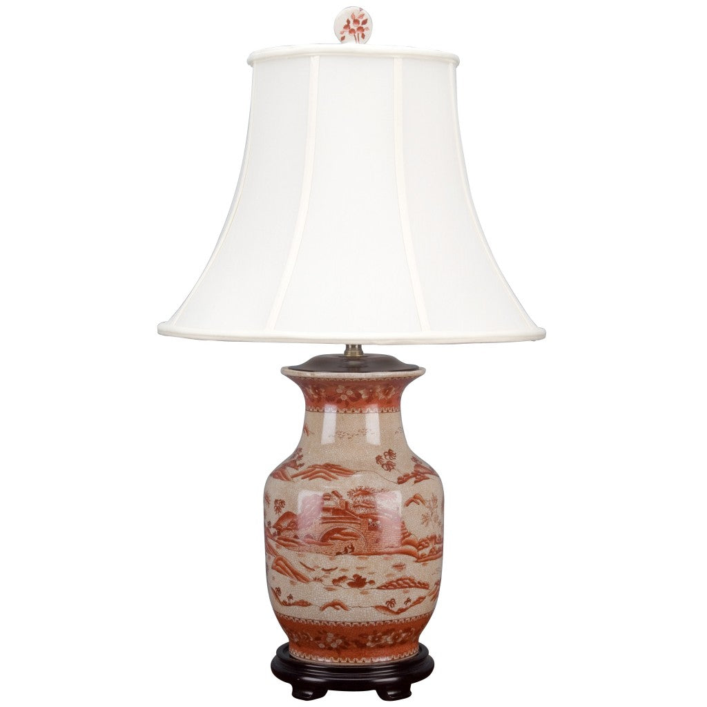 Lanscape Red Willow Lamp
