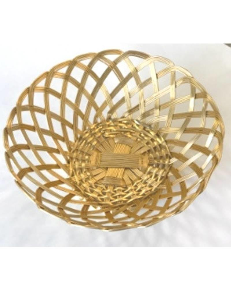 Gilded Bread Basket, Gold