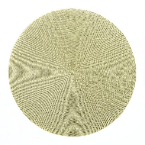 Linen Braid Placemat, Moss