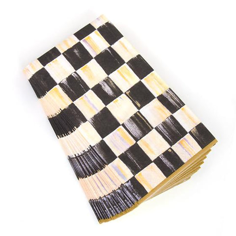 Courtly Check Paper Guest Napkins