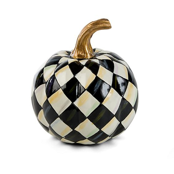 Courtly Harlequin Pumpkin Mini