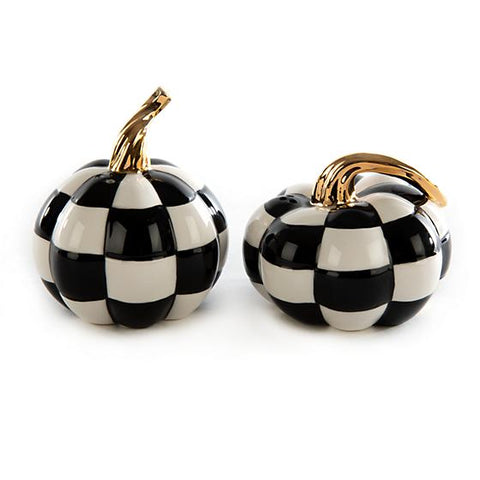 Mod Pumpkin Salt and Pepper Set