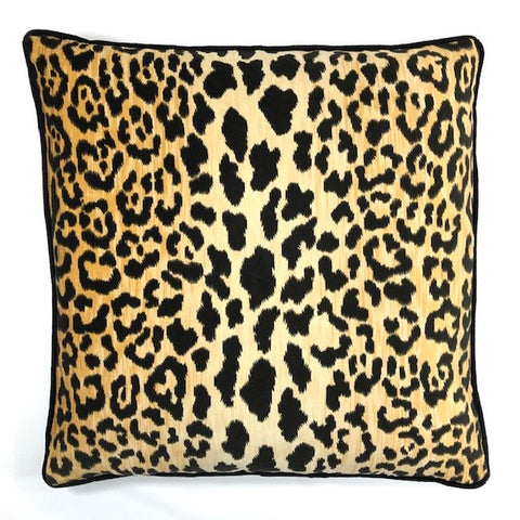 Jamil Black Pillow
