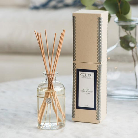 Reed Diffuser Clean Crisp White