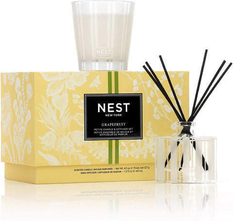 Nest Classic Candle & Reed Diffuser Set Grapefruit