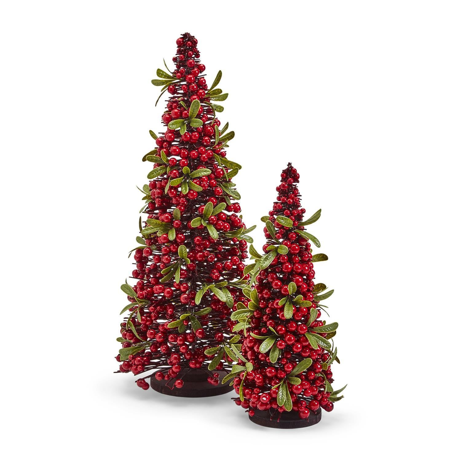Red Berry Christmas Tree (Multi. Size)
