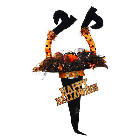 Witch Legs & Hat Doorhanger