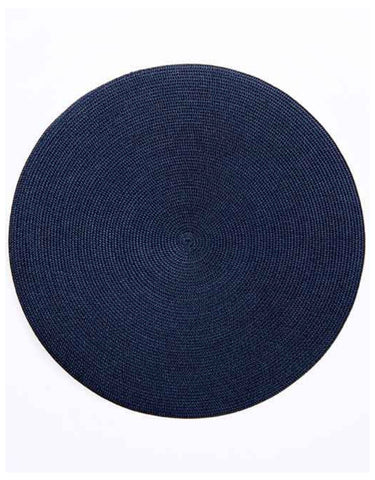 Linen Braid Placemat, Navy