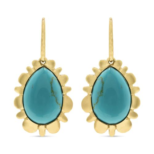 Bliss Drop Earrings Turquoise