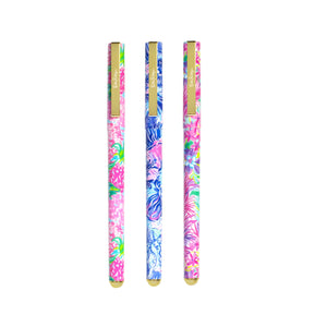 Lilly Pulitzer Colored Gel Pen Set, Assorted