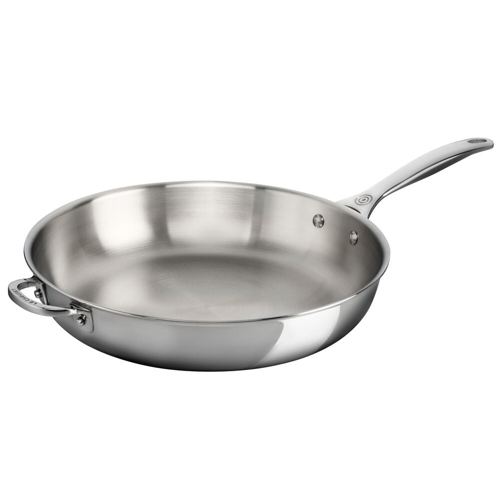 Stainless Steel Fry Pan, 10""