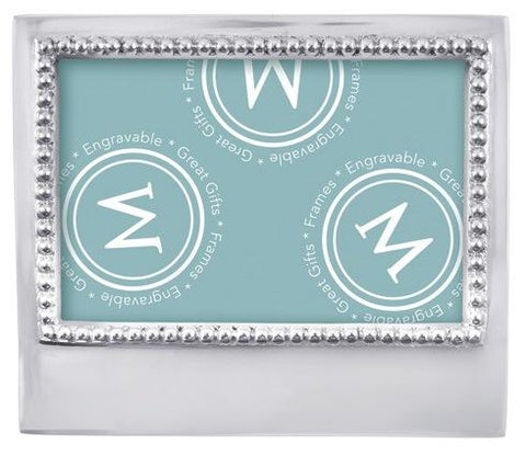 Beaded 4x6 Statement Frame