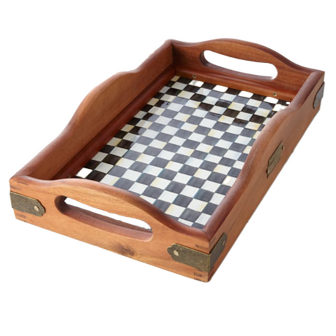 Courtly Check Small Hostess Tray