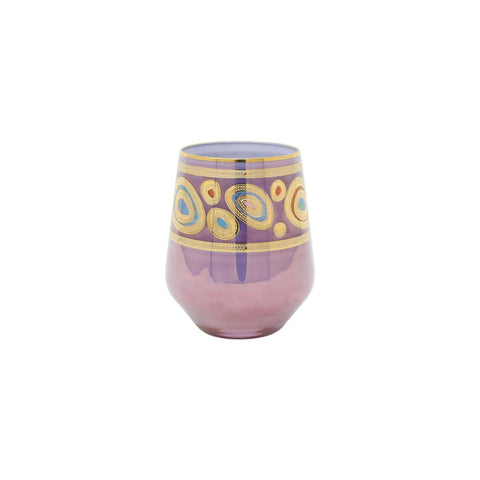 Regalia Purple Stemless Wine Glass