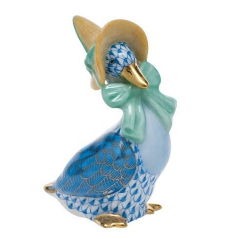Mother Goose, Blue Bow
