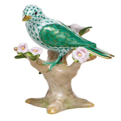 Bird on Branch figurine