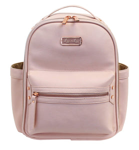 Blush Itzy Mini Backpack Diaper Bag
