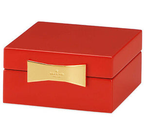 Kate Spade Lacquer Square Jewelry Box