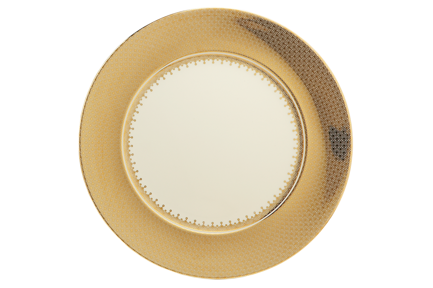 HALEY JANE Mottahedeh - Gold Lace Service Plate G6