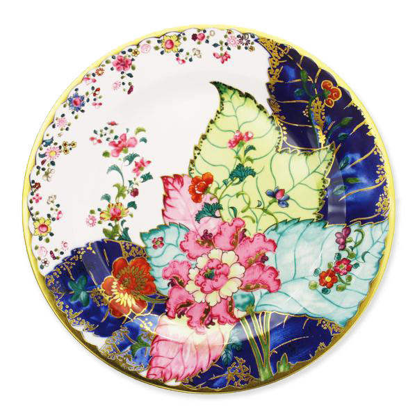 Tobacco Leaf Tin Plate, 10""