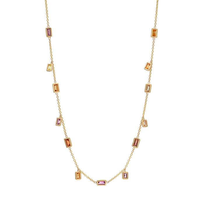 Brick Brigade Necklace Sherbet Color