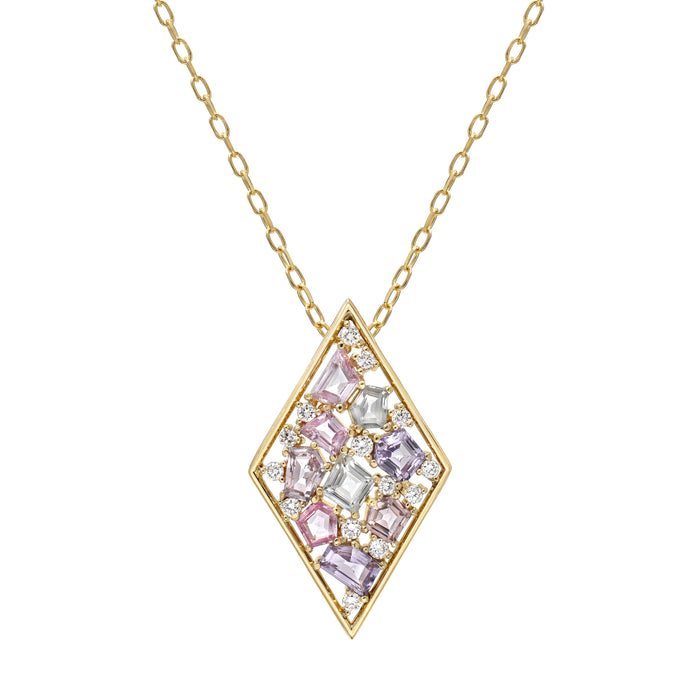 Diamond Mosaic Pendant