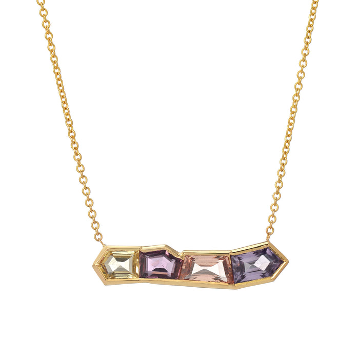 Mosaic Row Necklace