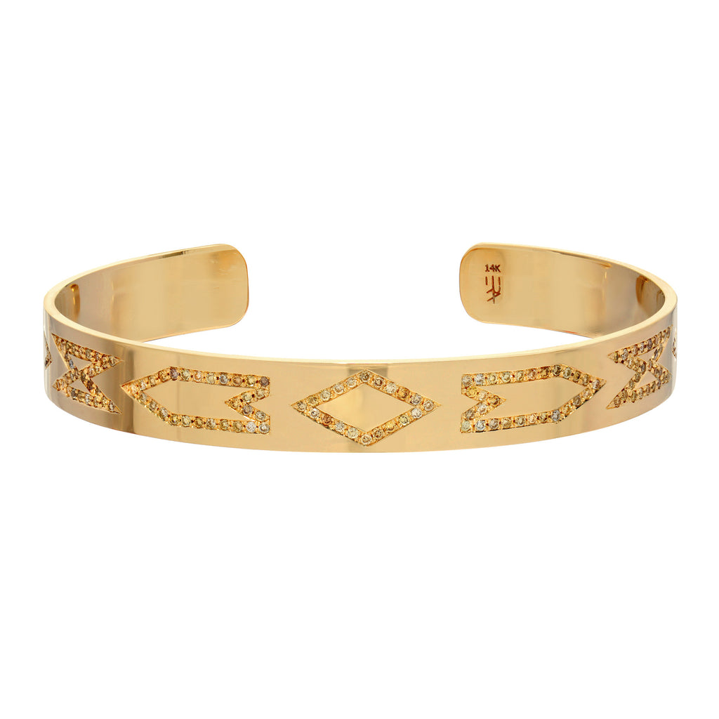 Pattern Path Bangle