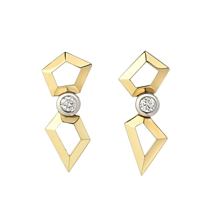 Mix Shape Earrings