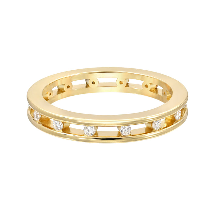 Petite Tri Channel Eternity Ring