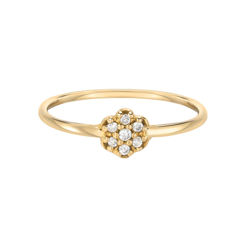 Grace Fleur Stackable Ring
