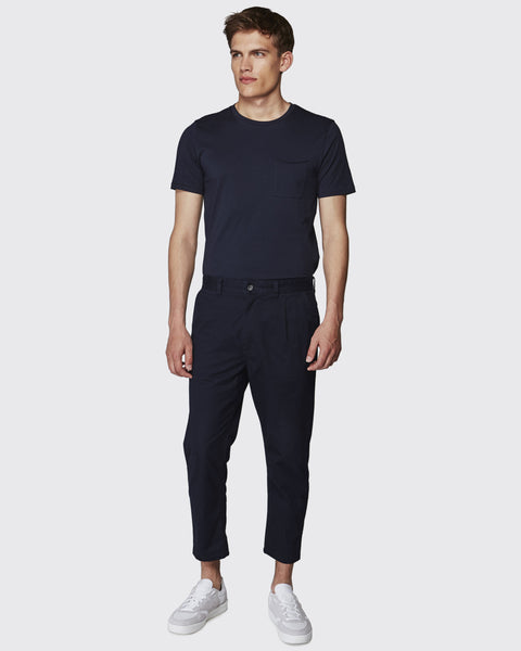 Minimum Baldo Pant-Dark Navy