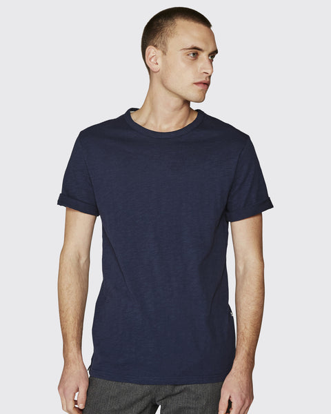 Minimum Delta SS Tee Dark Iris